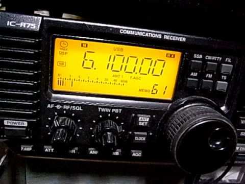 6100kHz International Radio Serbia Interval Signal received in Japan