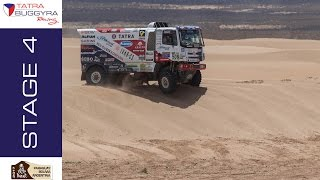 TATRA BUGGYRA RACING on DAKAR 2017 - Stage 4