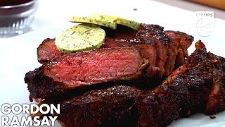 Philips Airfryer Gordon Ramsay Coffee & Chili-Rubbed Steak Recipe