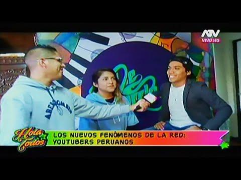 HOLA A TODOS 27/06/16 'YOUTUBERS PERUANOS', CONOCE A ESTOS NUEVOS FENÓMENOS DE LA RED
