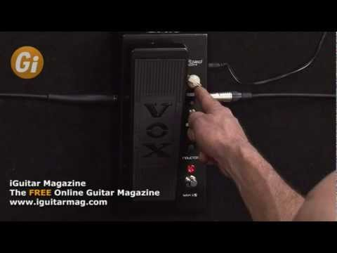 Vox Big Bad Wah Joe Satriani Pedal Review With Danny Gill Guitar Interactive Magazine