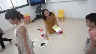 Demo bài DẠY TIẾNG ANH VỀ CÁC MÀU SẮC theo các phương pháp linh hoạt tại May School  Hưng Yên