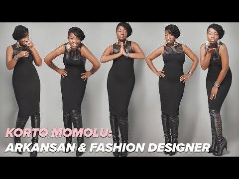 Korto Momolu: Fashion designer calls Arkansas home