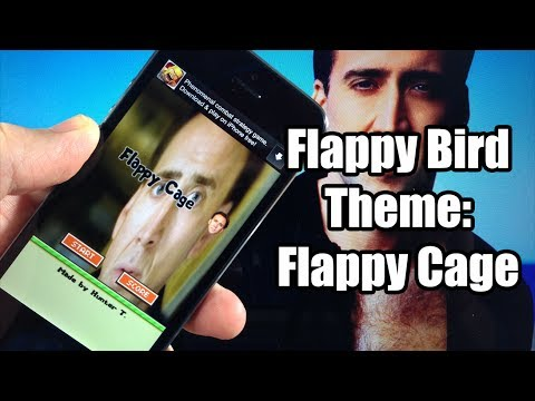 Flappy Bird Hack / Cheats / Themes - Flappy Cage