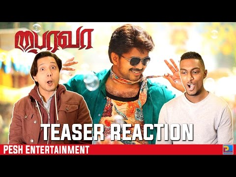 Bairavaa Teaser Reaction & Review | Vijay, Keerthy Suresh | PESH Entertainment