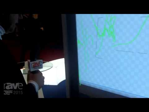 ISE 2015: Screenline Demonstrates the Screen-App Interactive Classroom Screen