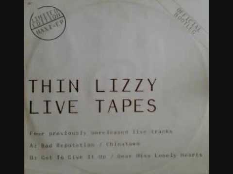 Thin Lizzy - Chinatown (Live Tapes)