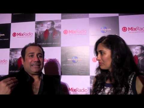 Rahat Fateh Ali Khan launches new album in Dubai