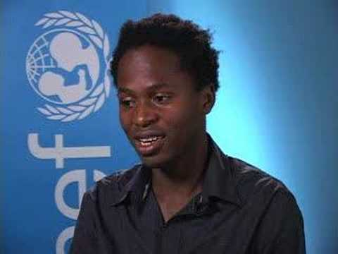 UNICEF: Ambassador Ishmael Beah on child soldiering