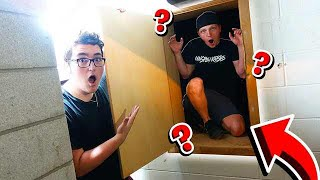 SECRET HIDING SPOT IN MANSION HIDE & SEEK!