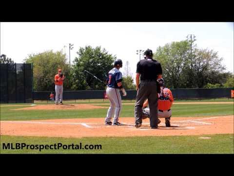 Astros LHP Brett Oberholtzer vs. Braves 2B Jaime Pedroza