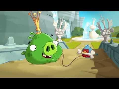 Злые птички Angry Birds Toons 1 сезон 38 серия Лучший друг свиньи все серии подряд