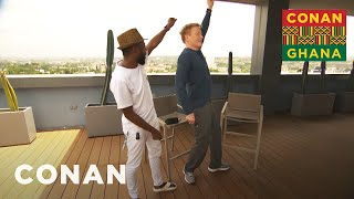 Conan Learns About Ghanaian Customs - CONAN on TBS