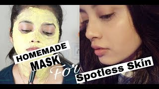 Get CLEAR and BRIGHT skin with this effective homemade Face Mask