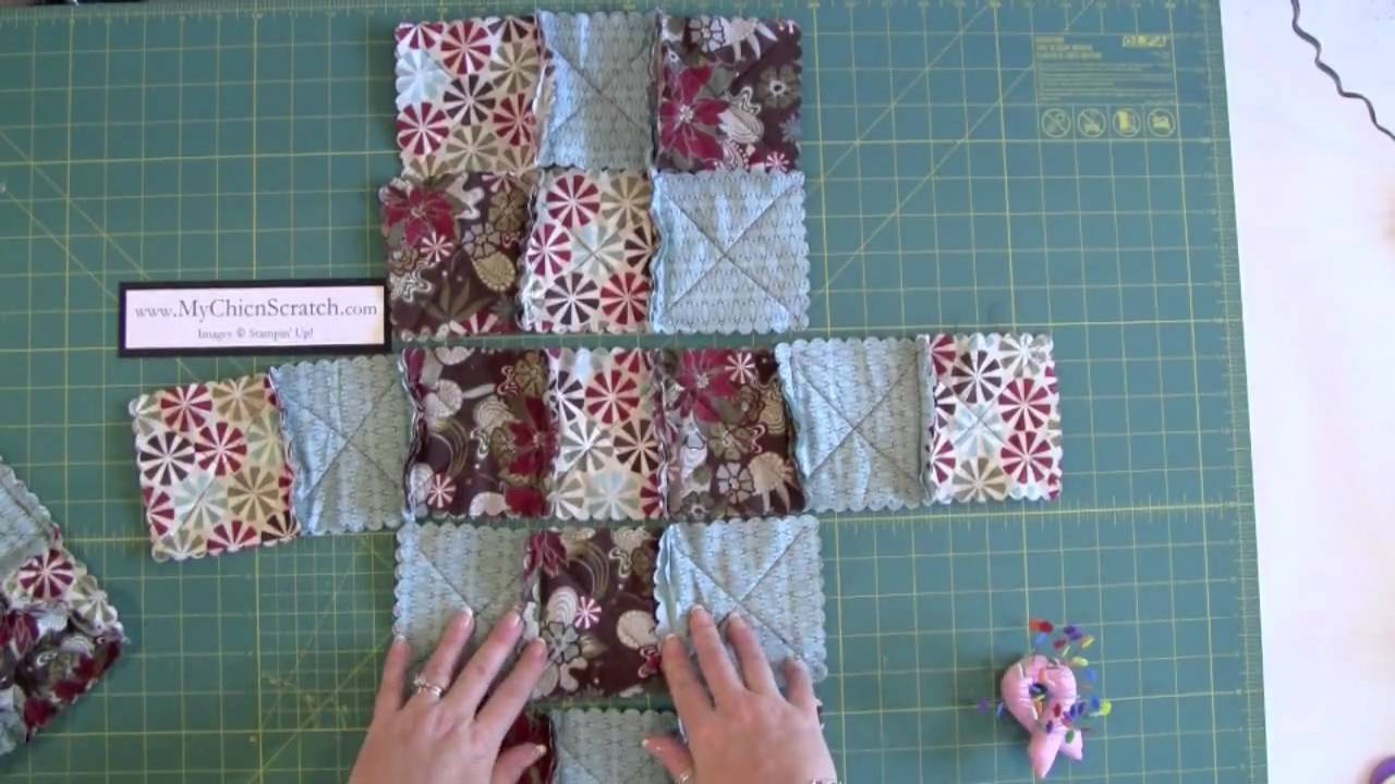 Raq Quilt Purse Part One Add On Youtube