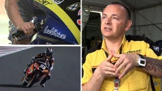 Moto2™ - Braking and tyre use in Grand Prix racing
