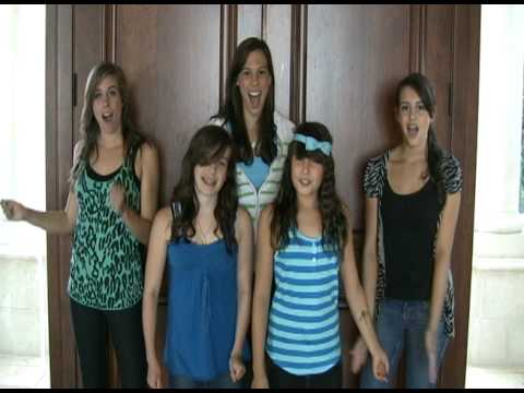 Party In The USA Live - Miley Cyrus at the Teen Choice Awards - Sung by FIVE SISTERS (Cimorelli) Music Videos