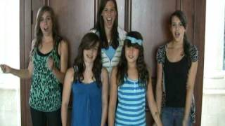 Party In The USA Live - Miley Cyrus at the Teen Choice Awards - Sung by FIVE SISTERS (Cimorelli)