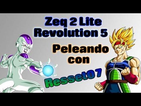 ZEQ 2 Lite Revolution 5    Peleando con Resset07