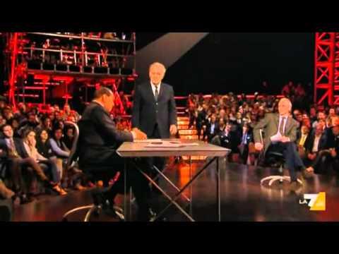Servizio Pubblico – Berlusconi lettera a Travaglio