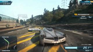 NEED FOR SPEED MOST WANTED 2012 SPEED RUN GRAVİTY