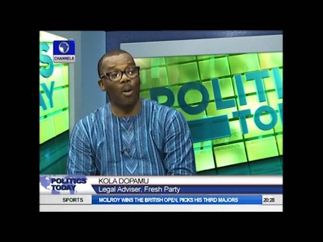 Politics Today: INEC Not Obeying Court Nullification Of Fresh Party's Deregistration - Lawyer