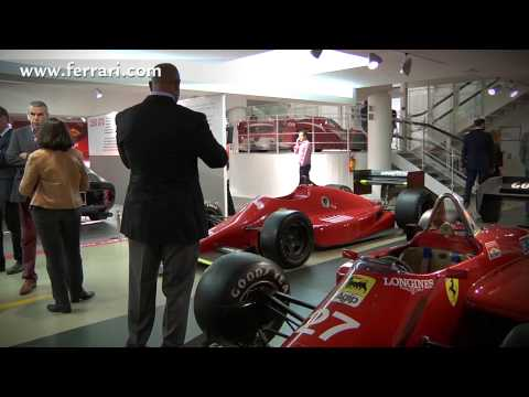 Formula Ferrari – Journalists visiting Ferrari Museum