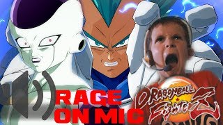 HILARIOUS RAGE ON MIC|DRAGON BALL FIGHTERZ