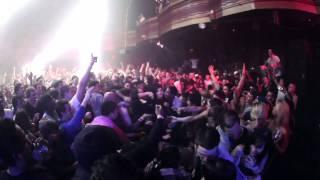 Skrillex Stage Diving in Webster Hall, NYC