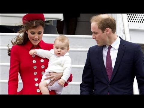 Prince George's First Trip Overseas