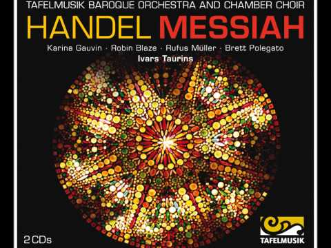 Handel Messiah, Chorus: For unto us a Child is born