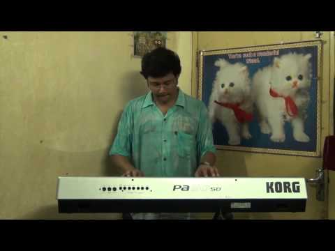 PRAN CHAY CHOKKHU NA CHAY RABINDRASANGEET INSTRUMENTAL ON SYNTHESIZER...