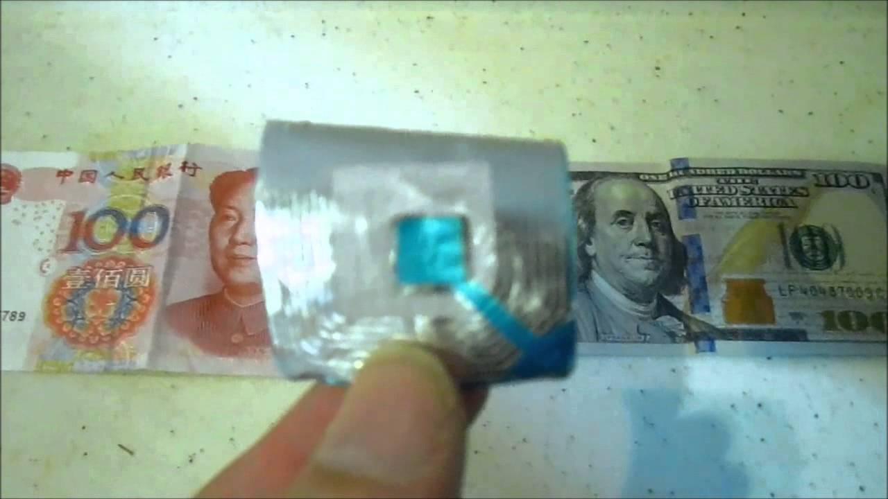 New $100 Bill & RFID Microwave Test - YouTube