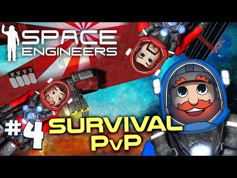 Space Engineers PVP Ep4: Space Engineers Vs Space Pirates