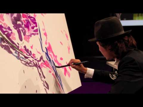 OHGUSHI Live Painting-Emilio Pucci Party 2010