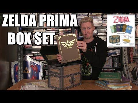 THE LEGEND OF ZELDA PRIMA GUIDE BOX SET