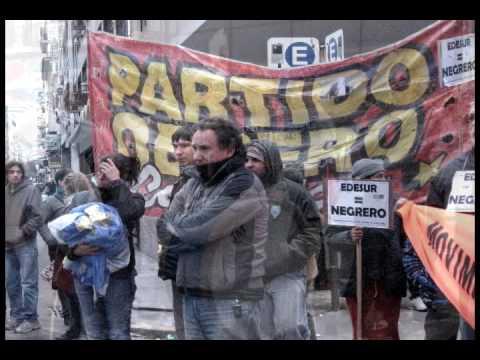 La Lucha de los Tercerizados de EDESUR - Argentina