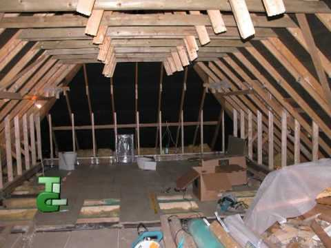 Truss Loft Conversion to Bedroom and Office Knaresborough - YouTube
