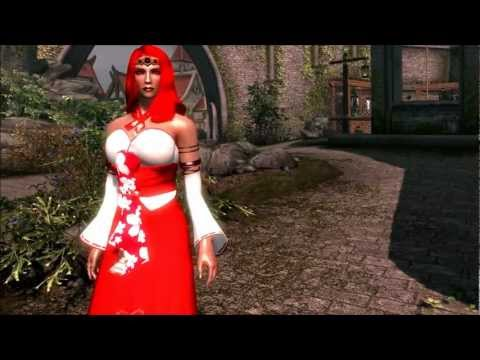 The Elder Scrolls V: Skyrim - Project Sekirei Sexy Japanese Clothes Pushup Mod