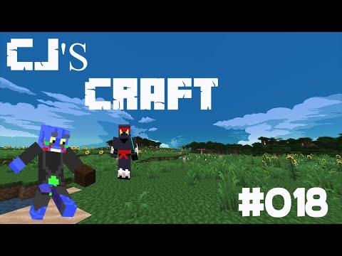 Minecraft survival in cjs craft ep18 ( MINING DIAMOND )