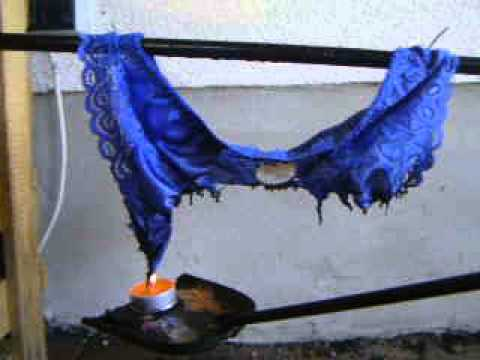 Lingerie Burn 1-4.....blue Satin Panty video