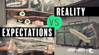Longboarding - Expectations VS Reality