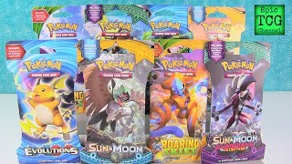 Opening Pokemon Booster Packs $30 Card Found Evolutions Sun & Moon EpicTCGChannel