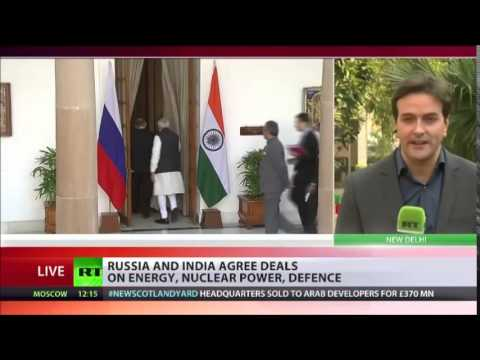 GOING Nuclear 'RUSSIA and INDIA Agree to BUILD 12 NUCLEAR Power REACTORS by 2035'