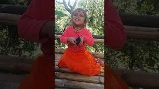 Bola maya song sing by five years old baby sagun bhandari