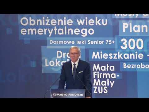 Tomasz Latos Na Konwencji Wojewódzkiej PiS W Bydgoszczy
