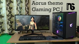 Aorus themed Gaming PC | Gaming/Editing setup