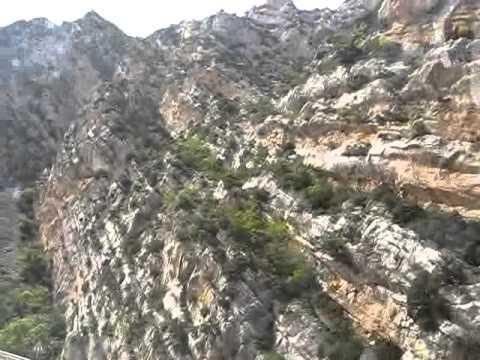 Дорога в Вердонский Каньон