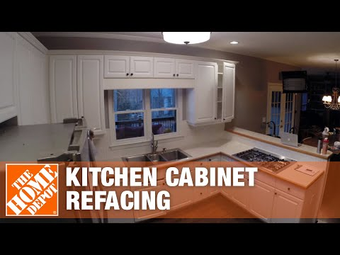 Kitchen Refacing Time Lapse - The Home Depot