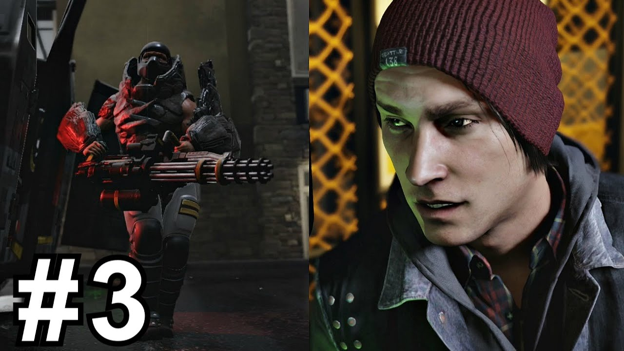 Infamous Second Son Gameplay Walkthrough Part 3 - Welcome ...